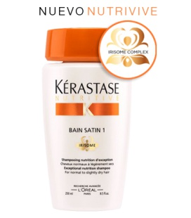 Bain Satin 1 Irisome - 250 ml de Kérastase